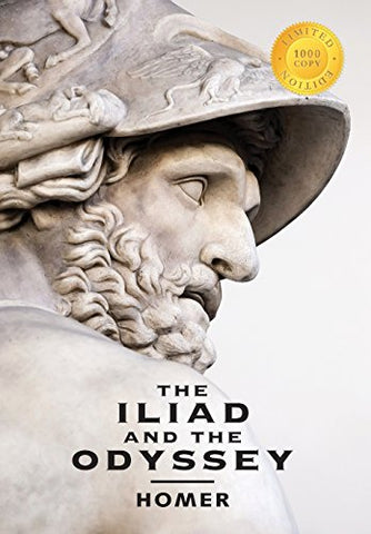 The Iliad And The Odyssey (2 Books In 1) (1000 Copy Limited Edition)
