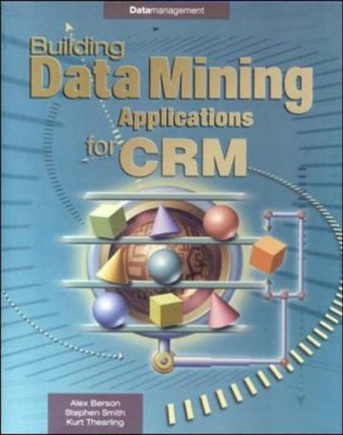 Building Data Mining Applications (Enterprise Computing)
