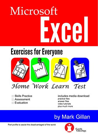 Microsoft Excel Exercises for Everyone (with Video Training)