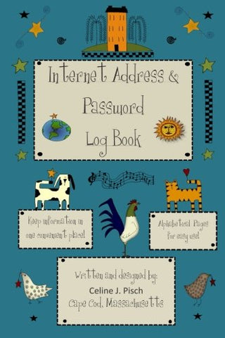 Internet Address & Password Log Book