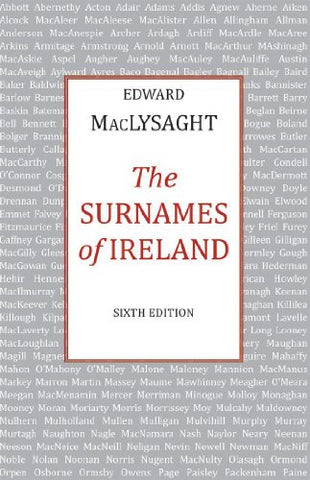 The Surnames of Ireland