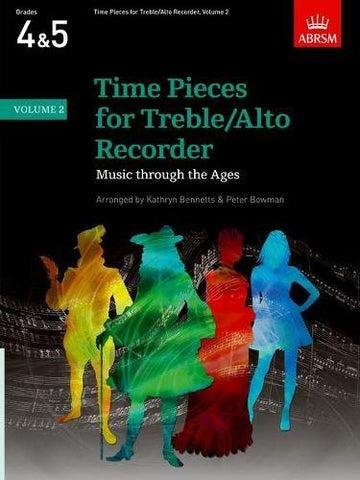 Time Pieces for Treble/Alto Recorder, Volume 2: v. 2 (Time Pieces (ABRSM))