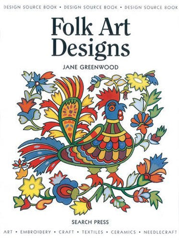 Design Source Book 18: Folk Art Designs (Design Source Books)