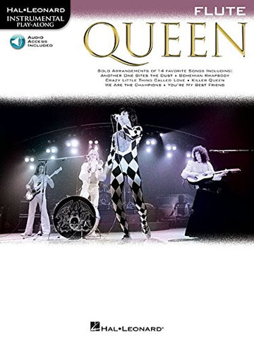 Flute Play-Along: Queen (Hal Leonard Instrumental Play-Along)