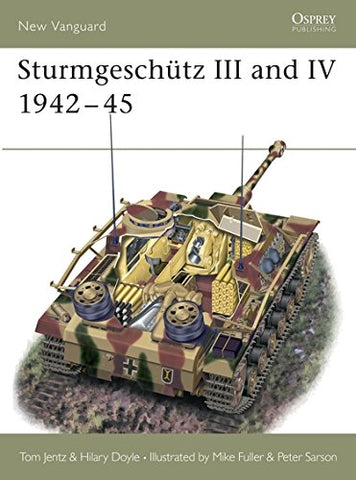 Sturmgeschtz III and IV 1942-45 (New Vanguard)