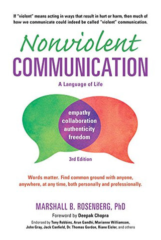 Nonviolent Communication - A Language of Life (Nonviolent Communication Guides)