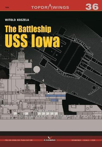 The Battleship USS Iowa (Top Drawings)