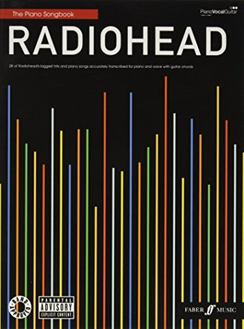 Radiohead Piano Songbook (Piano, Vocal, Guitar)