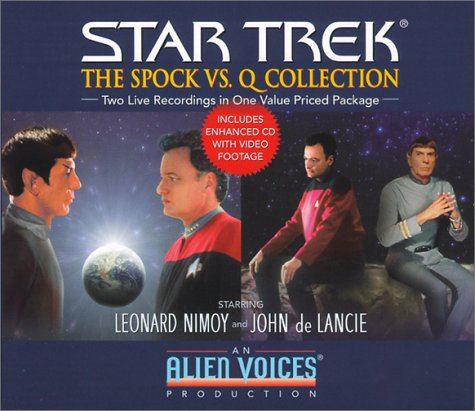 The Spock Vs. Q Gift Set (Star Trek)