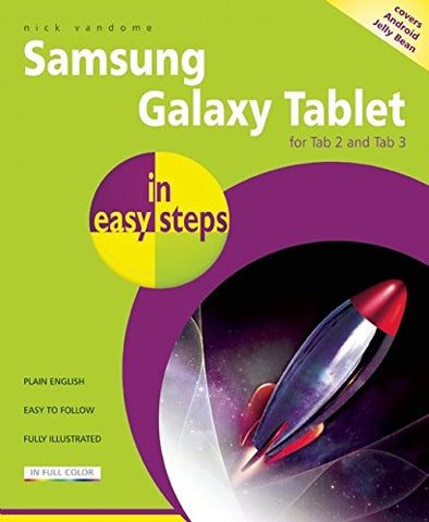 Samsung Galaxy Tablet in easy steps: For Tab 2 and Tab 3 Covers Android Jelly Bean