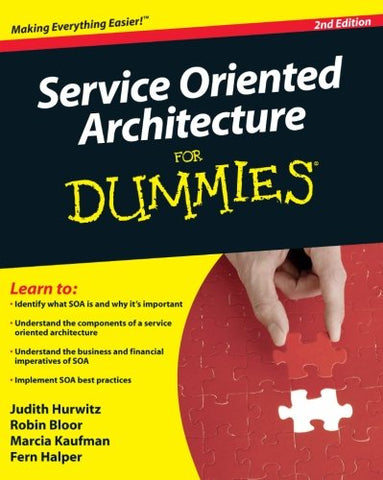Service Oriented Architecture for Dummies 2nd Edition