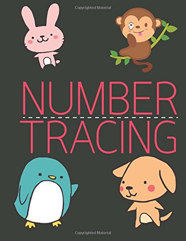 Number Tracing: Learning Number 0 to 20 - LARGE PRINT - Handwriting Practice Book For Kids Age 3-5 Year: Alphabet Writing Practice: Volume 2