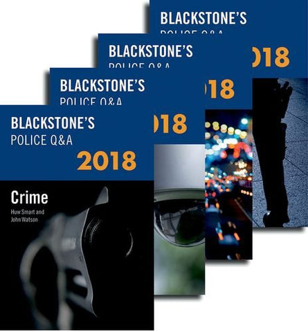 Blackstone's Police Q&A: Four Volume Pack 2018 (Blackstone's Police Manuals)