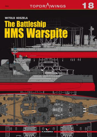 The Battleship HMS Warspite (Top Drawings)