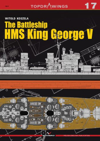 The Battleship HMS King George V (Top Drawings)