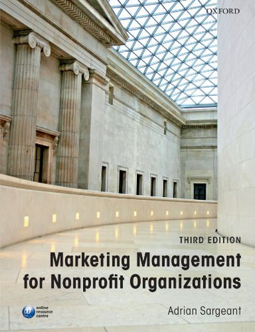 Marketing Management for Nonprofit Organizations