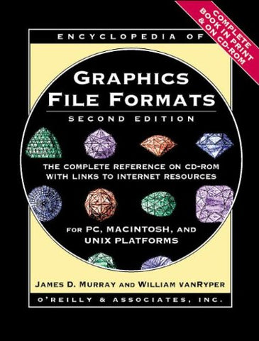 Encyclopedia of Graphics File Formats: The Complete Reference on CD-ROM with Links to Internet Resources