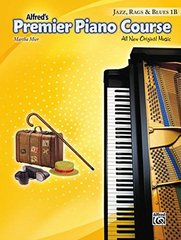 Premier Piano Course Jazz, Rags & Blues, Bk 1B