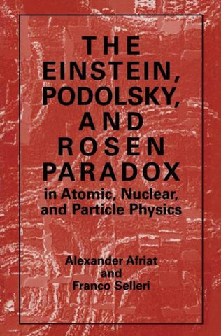 The Einstein, Podolsky, and Rosen Paradox in Atomic, Nuclear, and Particle Physics (And Population Analysis)