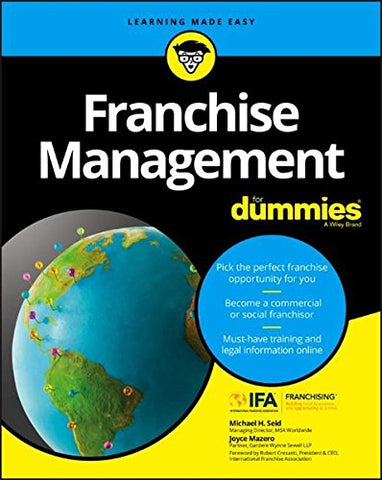 Franchise Management For Dummies (For Dummies (Lifestyle))