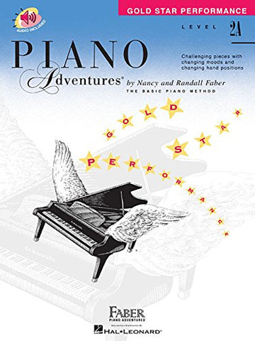 Piano Adventures: Level 2A - Gold Star Performance (Book/CD)
