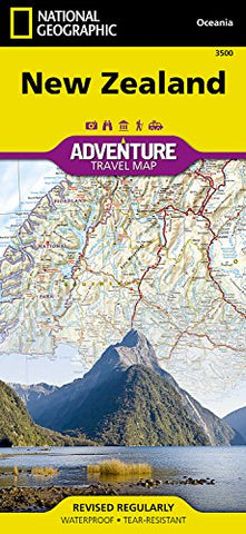 New Zealand adv. ng r/v (r) wp - 1/1,1M (Adventure Map (Numbered))