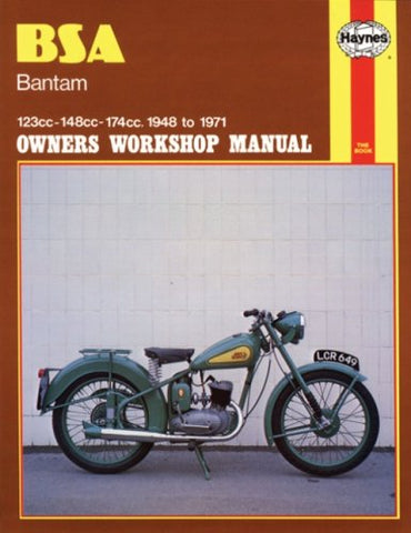 BSA Bantam 1948-1971 (Motorcycle Manuals)