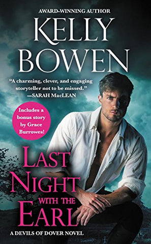 Last Night With the Earl: Includes a bonus novella (Devils of Dover)