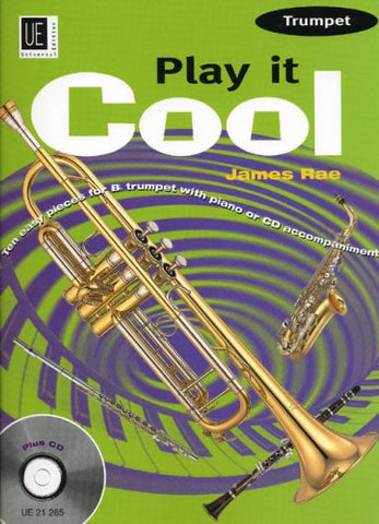 Play It Cool Trumpet Rae Tpt & Piano Bk & Cd