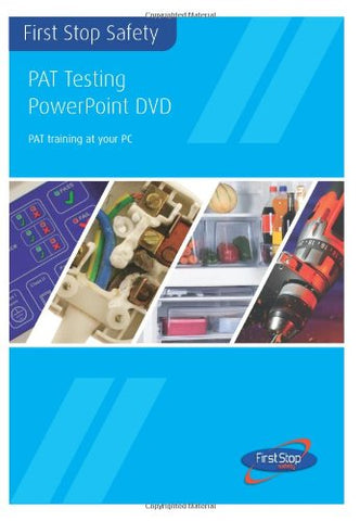 PAT Testing PowerPoint DVD - PAT Training at Your PC