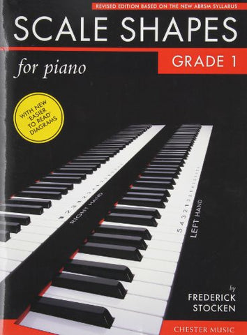 Scale Shapes for Piano: Grade 1