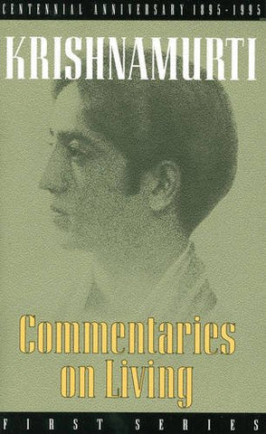 Commentaries on Living: First Series: 1st Series