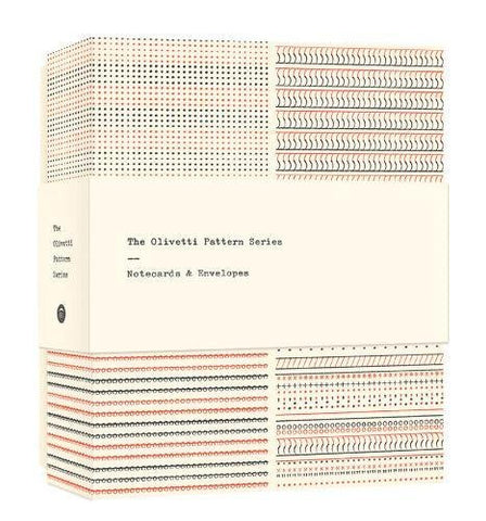 The Olivetti Pattern Series Notecards: Notecards & Envelopes