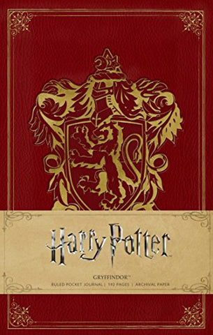 Harry Potter Gryffindor Pocket Journal (Harry Potter Journals) (Insights Journals)