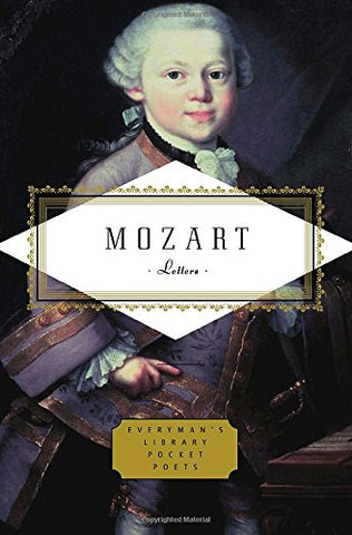 Mozart: Letters (Everyman's Library Pocket Poets)