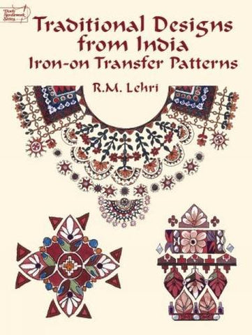 Traditional Designs from India Iron-on Transfer Patterns (Dover Iron-On Transfer Patterns)