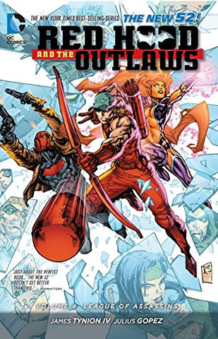 Red Hood and the Outlaws Volume 4 TP (The New 52)