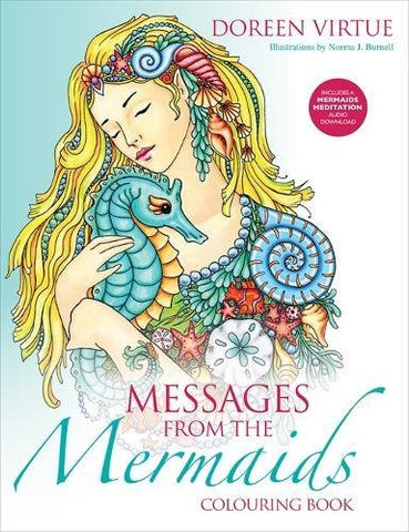 Messages from the Mermaids Colouring Book (Colouring Books)