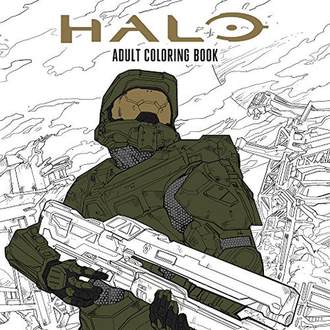 Halo Coloring Book Based off the game Halo from Microsoft and 343