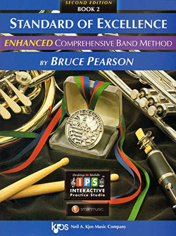 Standard Of Excellence: Enhanced Comprehensive Band Method Book 2 (Trumpet/Cornet)