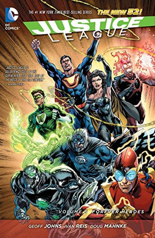 Justice League Volume 5 HC (The New 52)