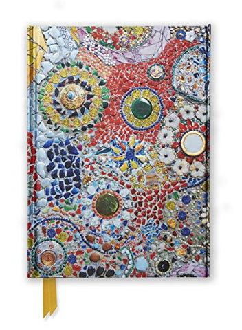Gaudi (inspired by): Mosaic (Foiled Journal) (Flame Tree Notebooks)