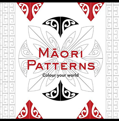 Maori Patterns: Colouring Book (Colouring in Books)