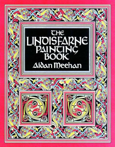 The Lindisfarne Painting Book (Painting Books)