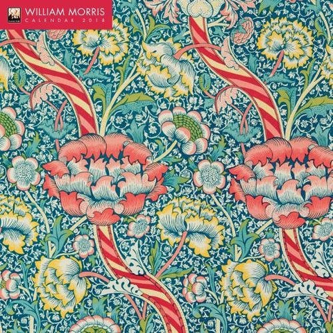 William Morris Wall Calendar 2018 (Art Calendar)