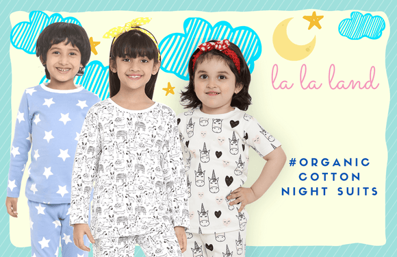 organic cotton night suits for kids in india