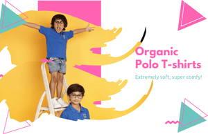 organic cotton polo t shirts online India