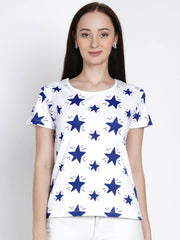 blue star t shirt for girl