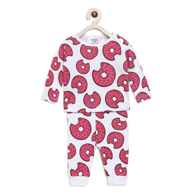 donut night suit set