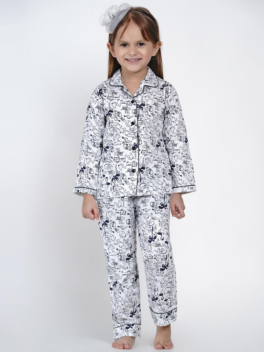 animal printed night suit